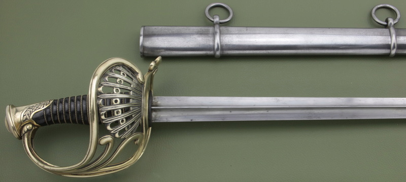 Sabre à coquille Napoléon III (ou 3° République) _mg_5818