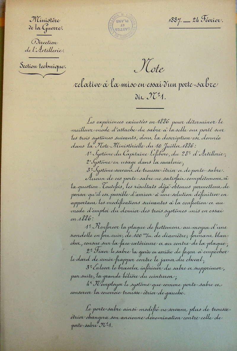 Sabre de cavalerie légère modèle 1822 : suppression du deuxième anneau Imgp3012