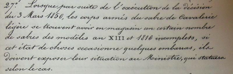 XI sabre de cavalerie légère mystère du fourreau Imgp3014