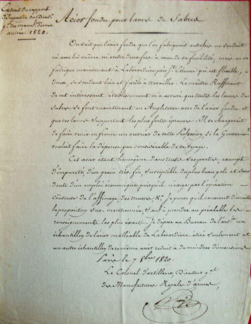 sabre 1822 d'officier de cavalerie légére  Imgp3210