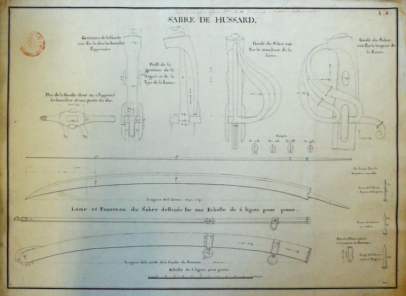 Différences entre le sabre AN IX et les modèles AN XI et AN XIII. Imgp3311