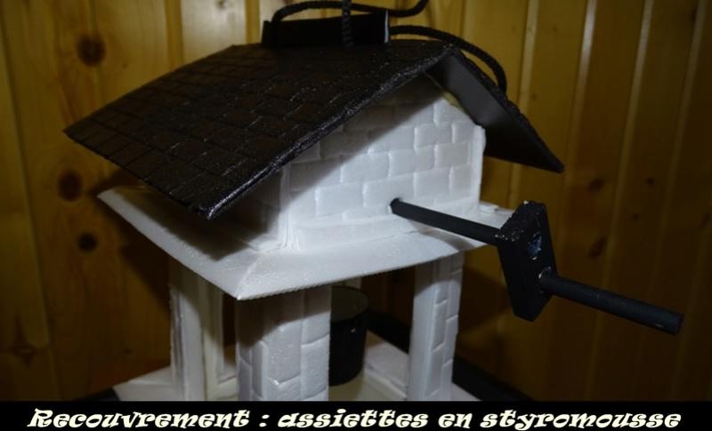 Mangeoire d'oiseaux «Puits» nouvelle  Dsc05513