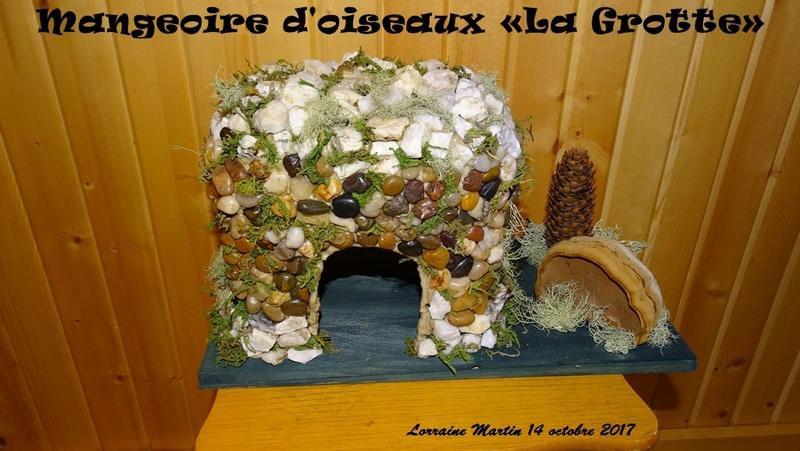 Une Grotte en pierres mangeoire  Grotte10