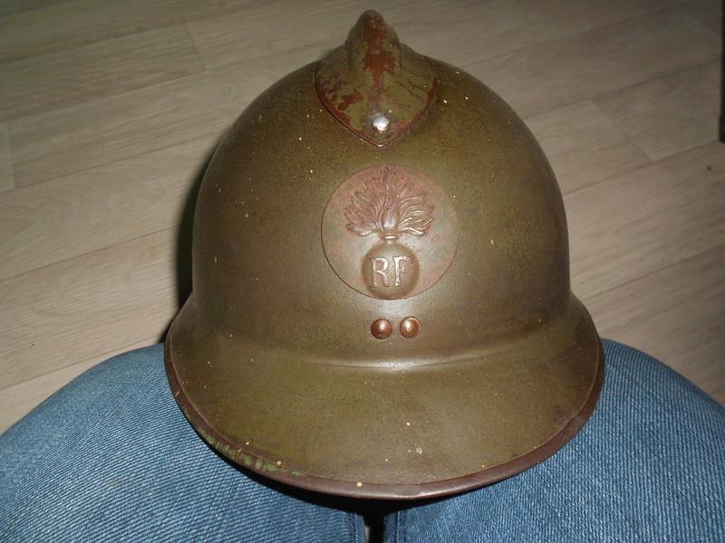 adrian modèle 26 rondache infanterie 35 nominatif, 38ème RI 5ème cie 00314