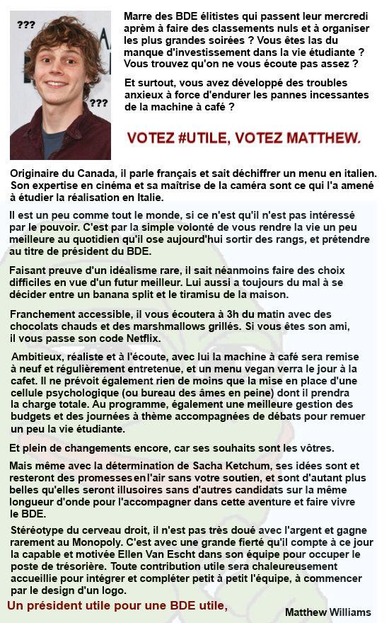 ACTUALITÉS - Page 2 Matthe10