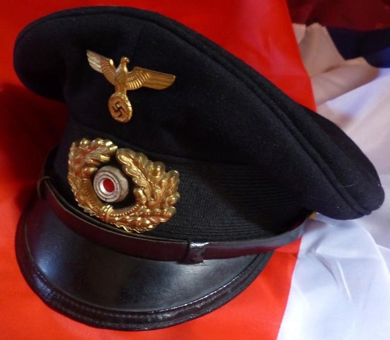 Casquette Officier Marinier KM 5_110
