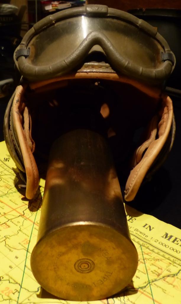 Casque de tankiste US M1938 P1160828
