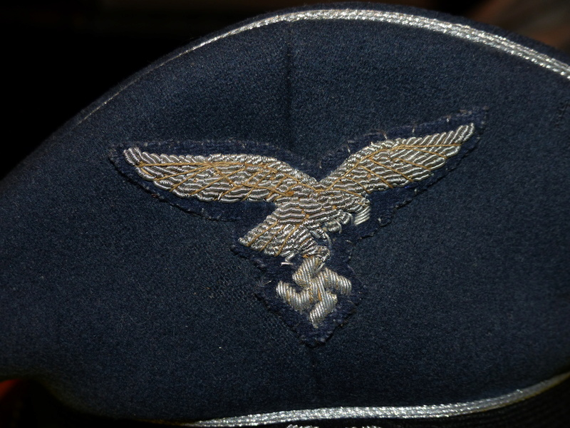 identification casquette luftwaffe P1160912