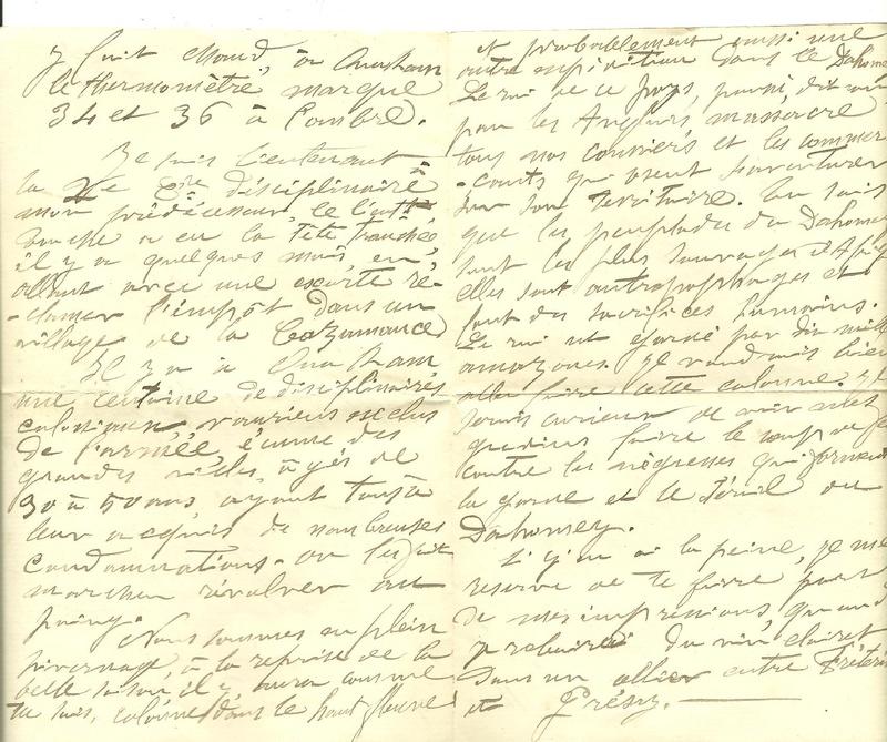 conquete du Sénégal 1880/ 1883 - Page 4 Lettre10