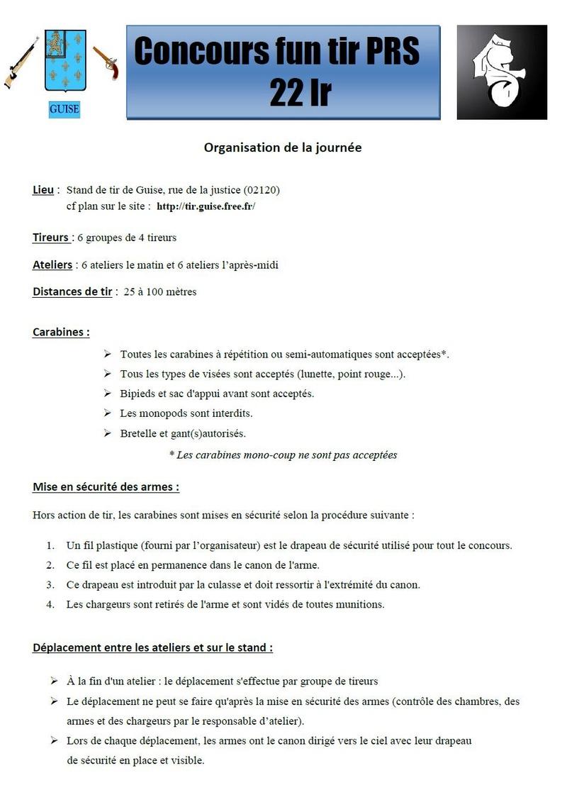 1er concours PRS 22lr de la Societe de Tir de Guise, 3 juin  Concou12