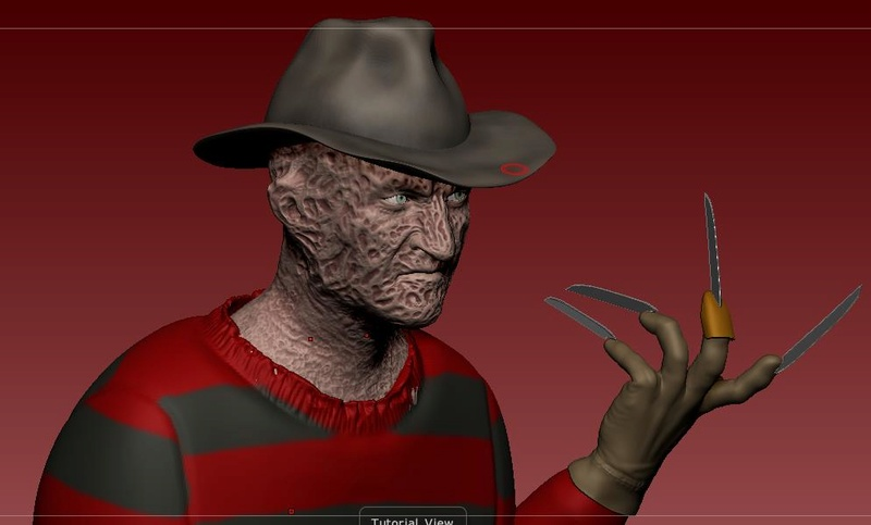 3D (THREE D) KRUEGER :.B 18-04-15