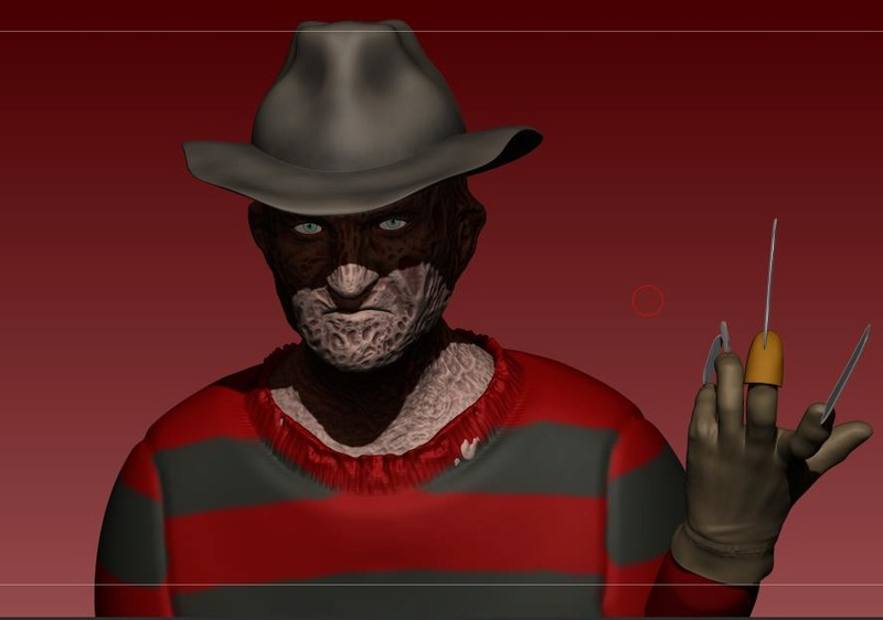 3D (THREE D) KRUEGER :.B 18-04-16