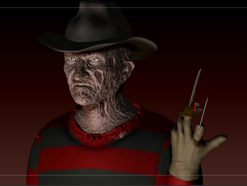 3D (THREE D) KRUEGER :.B 18-04-18