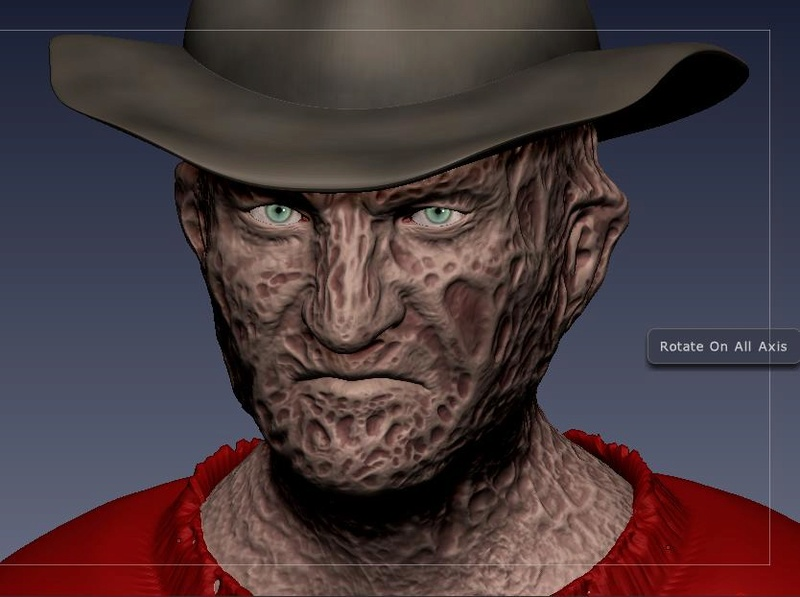 3D (THREE D) KRUEGER :.B 18-04-20