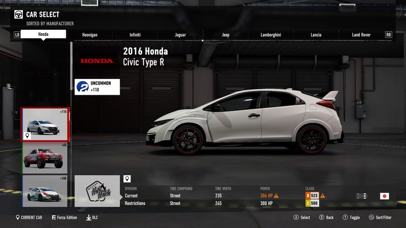 FM7 Time Attack | Stock Car Challenge #10 (2016 Civic Type R) 47ad4410