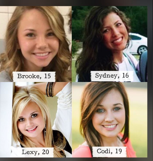 SyFy Paranormal Witness Lost girl and Brooke Butler, Sydney Shumate, Codi Rice, Lexy Simpkin 11e54e10