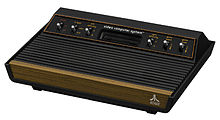 my first time i played a game console was the Atari 2600, also so intellivision and coleco vision 220px-12