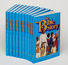 The Bible Story illustrated children's bible 220px-14