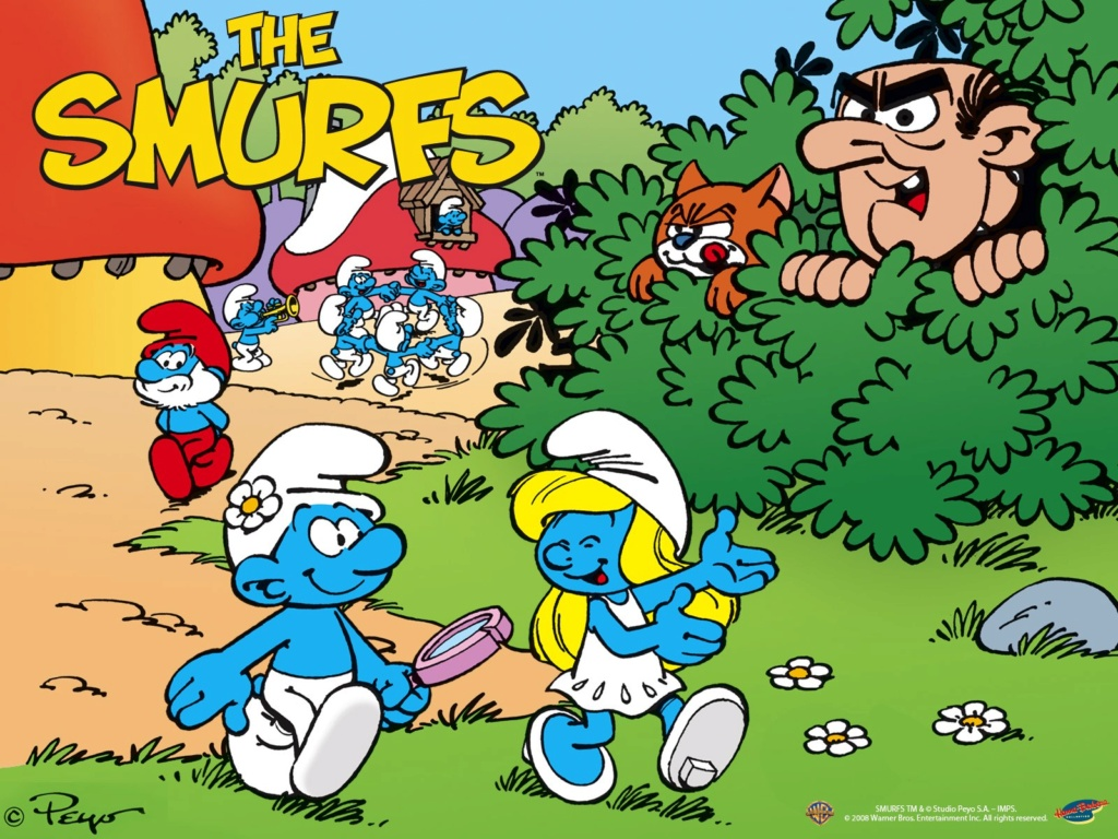75 cents comics and sea monkeys and smurfs 81mniw10