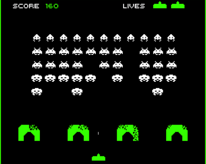 asteroids,  berzerk , space invaders and comparisons to today 979c0610