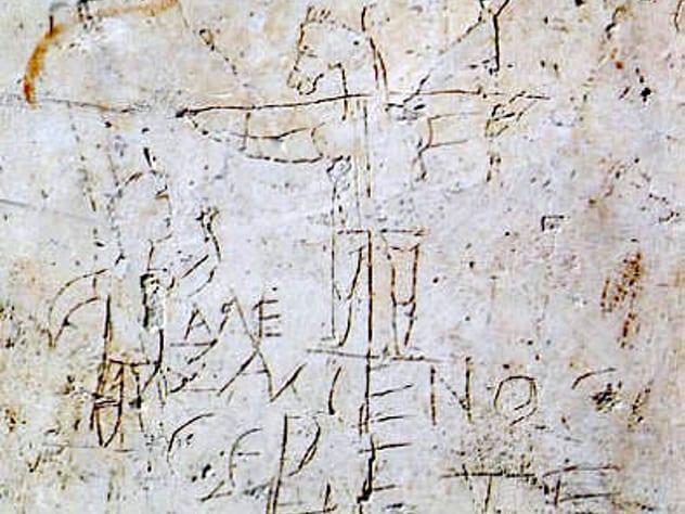 atheist Jesus never existed - did Alexamenos exist ? Alexam10