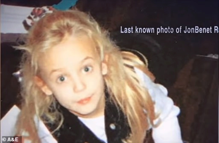 last known photo of JonBenet Ramsey alive, never before seen, and age progression C33a5410