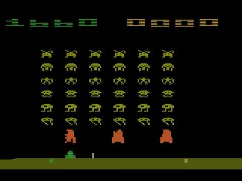 my first time i played a game console was the Atari 2600, also so intellivision and coleco vision Hqdefa41