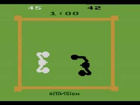 my first time i played a game console was the Atari 2600, also so intellivision and coleco vision Hqdefa43