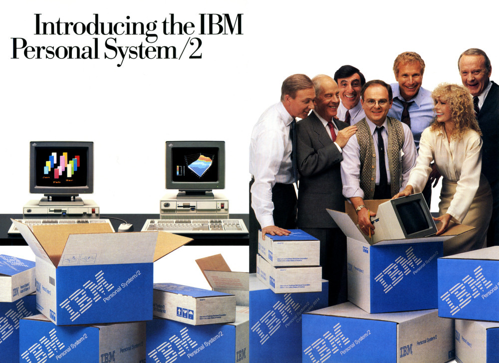 the very first PC magazine i read and  IBM PS/2 model 50 and windows 3.0 Ibm20p10