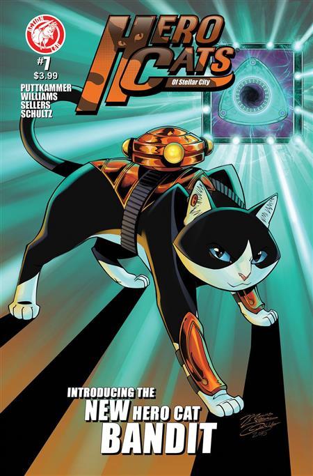 Action Lab Hero Cats of Stellar City vol 3 Jun15010