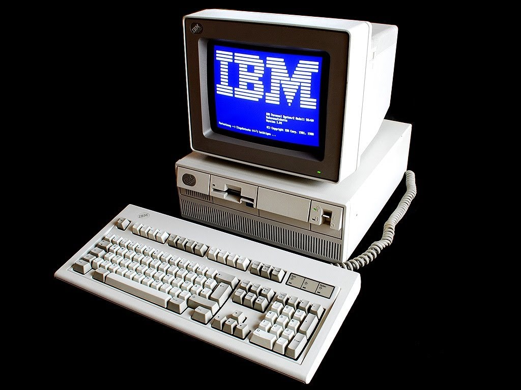 trip down memory lane: the first computer game i played, smurfs hermit crabs, IBM ps/2 at bank Maxres34