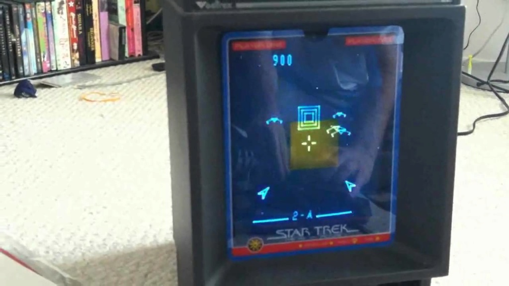 Adam Walsh and my first gaming console vectrex Maxres52