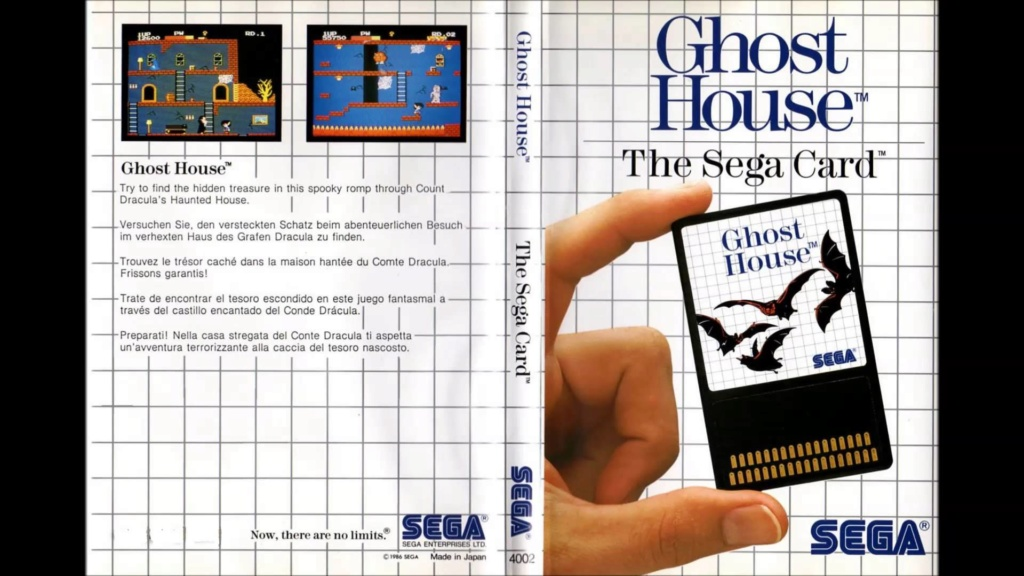 Halloween sega master system ghost house and nintendo ghost and goblins and black couldron Maxres64