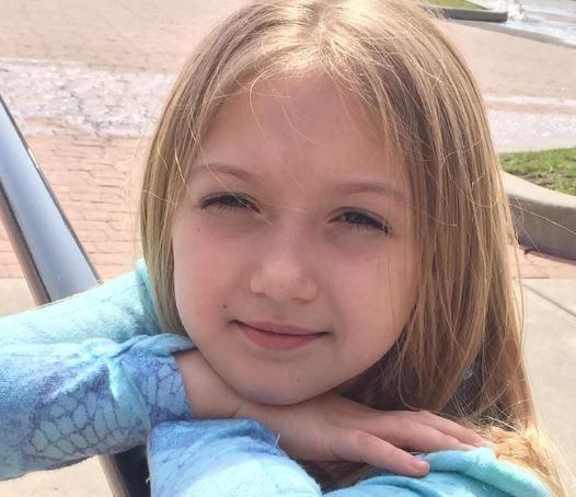 perhaps Paiten Noelle Pierce age 9 died of COVID19   Paiten10