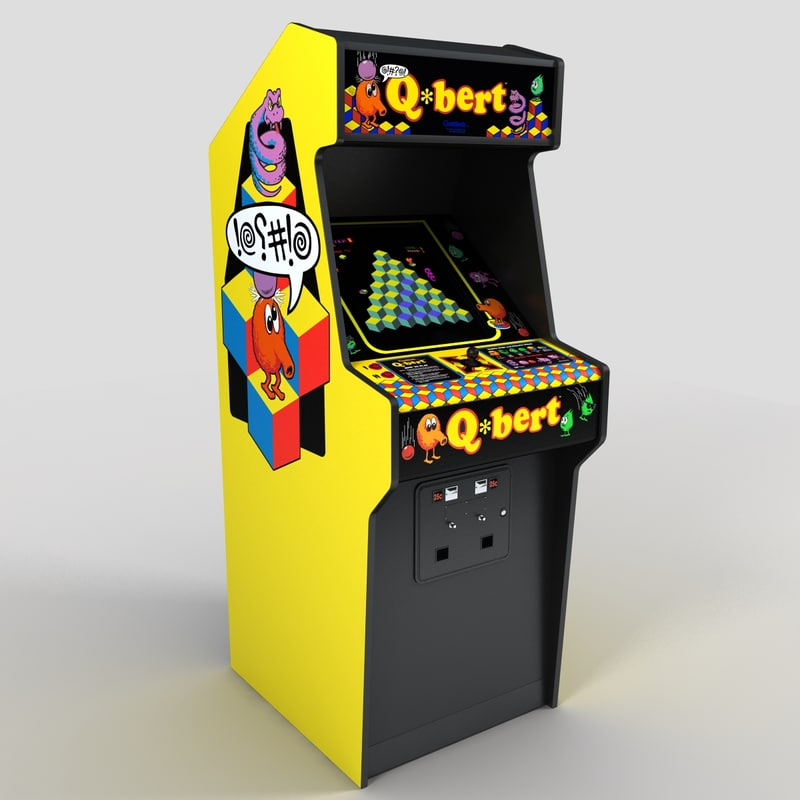 my   memories of arcades the early years at malls trip down memory lane Qbert_10