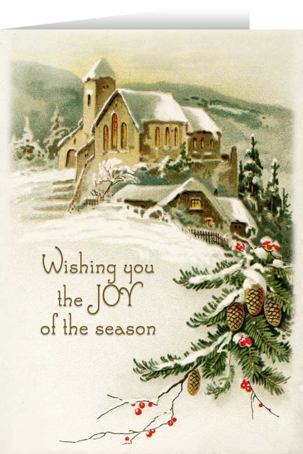 it's snowing heavily today and christmas cards S5821810