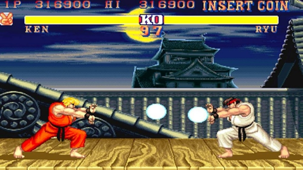 street fighter 2 mortal kombat yie are the kung fu virtua fighter  remembered Street10