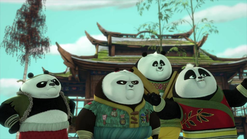 kung fu panda the paws of destiny  Vlcsn388