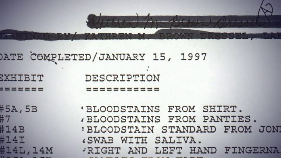 A&E Hunting JonBenet's Killer: The Untold Story part 1 DNA Vlcsn574