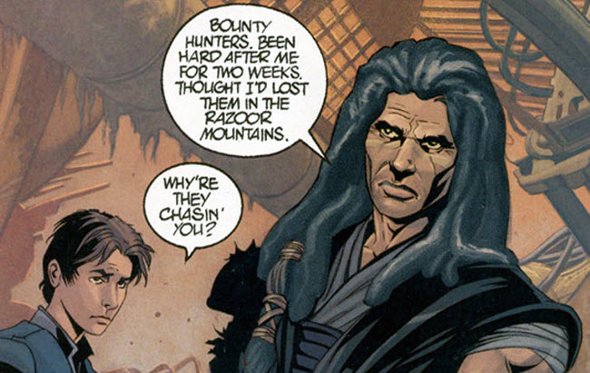 Star Wars Han Solo missed an opportunity to include this Quinlan Vos story from legends EU Vos-so10
