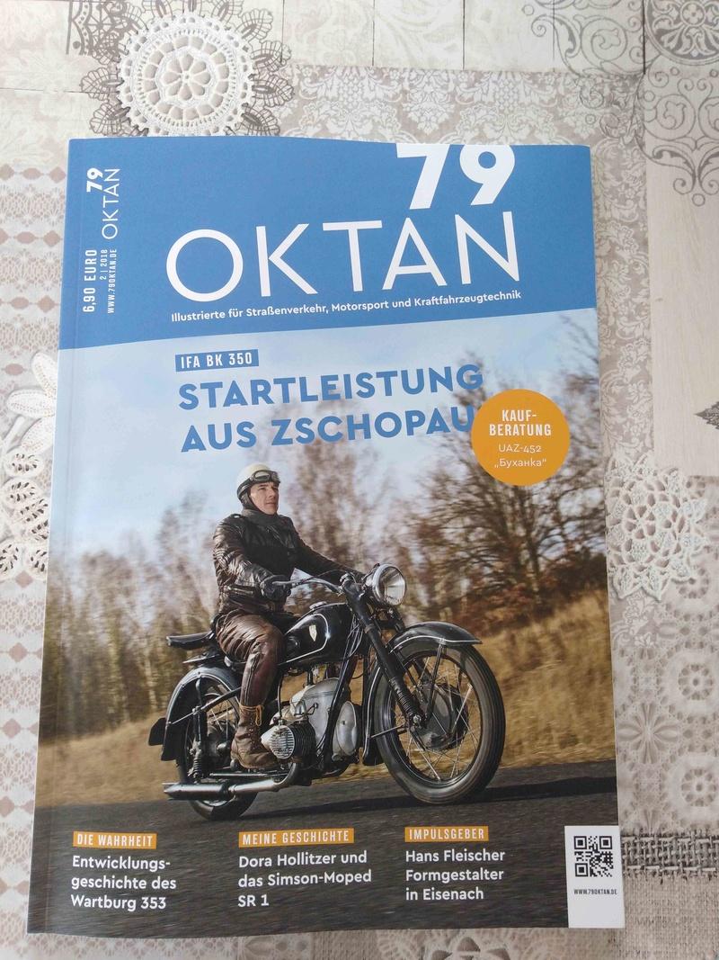 "Nouveau magazine ""79 Oktan"" Bk12"