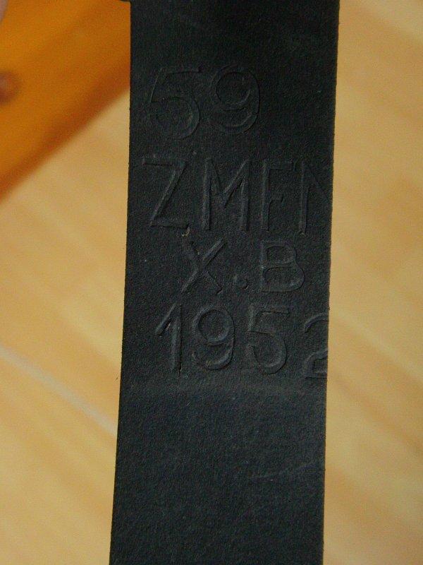 Casque complet de la marine Belge (années 50) 32443210