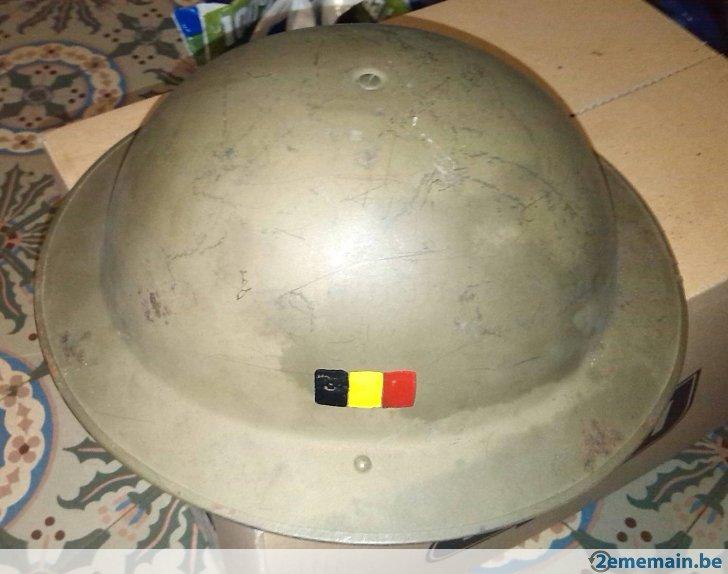 Casque complet de la marine Belge (années 50) 39372010