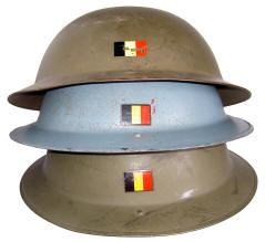 Casque complet de la marine Belge (années 50) Be_mki10