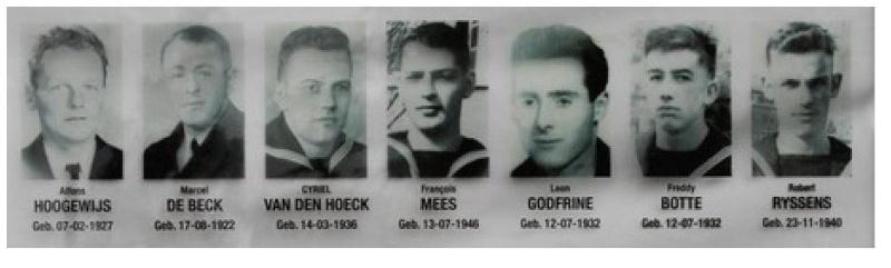 Hommage aux 7 plongeurs-démineurs morts le 10 juin 1969 Demine10