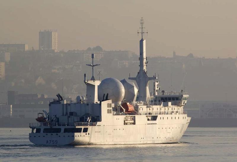 A759 Dupuy de Lôme (navire collecteur de renseignements) Dupuy-11
