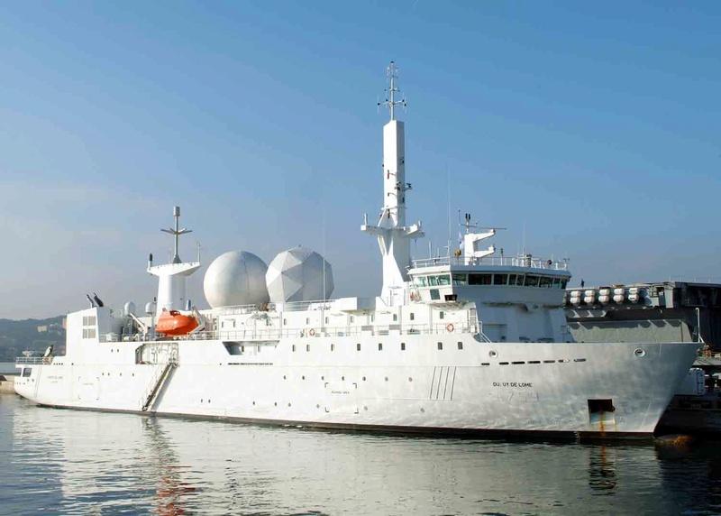 A759 Dupuy de Lôme (navire collecteur de renseignements) Dupuy_10