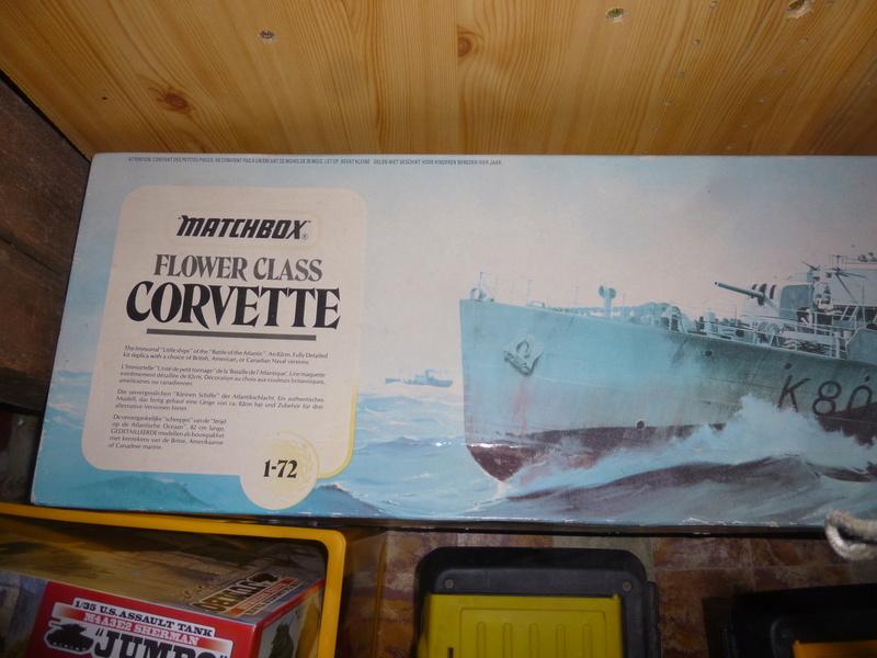 "Corvette ""flower class"" WW2 P1080412"
