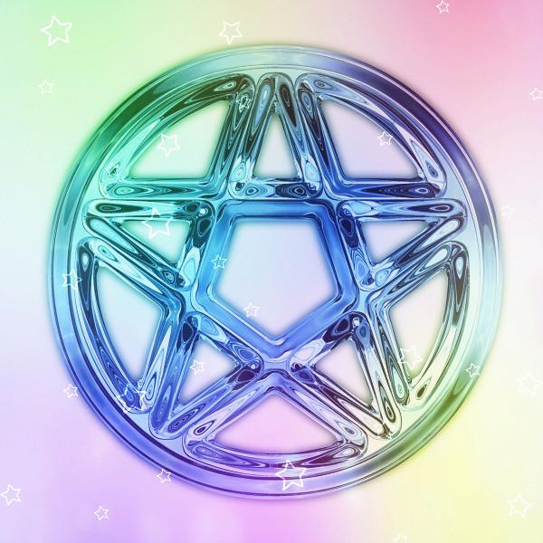 Магнетическая Кристаллическая Пентаграмма 63442410