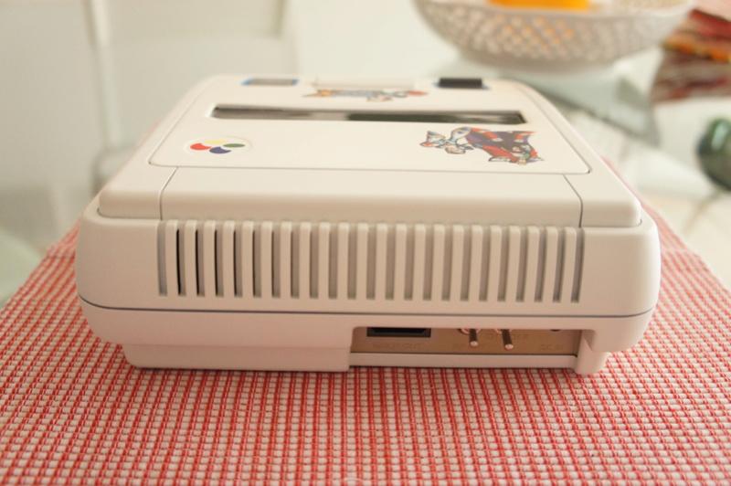 Console super Nintendo  Dsc05616